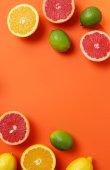 Delicious citrus fruits