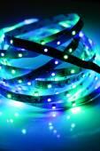 Led lights close-up