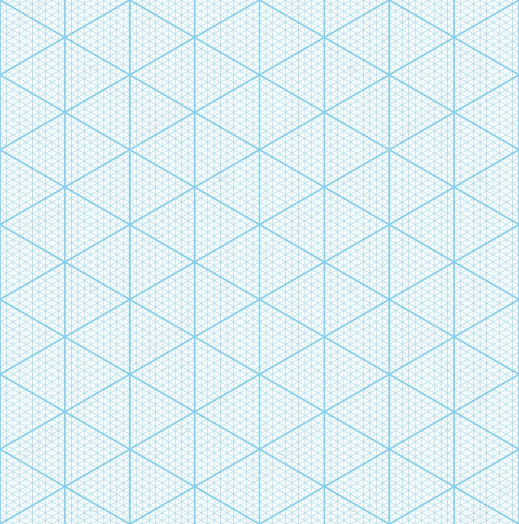 Isometric graph paper for 3D design — Stock Photo © almagami ...