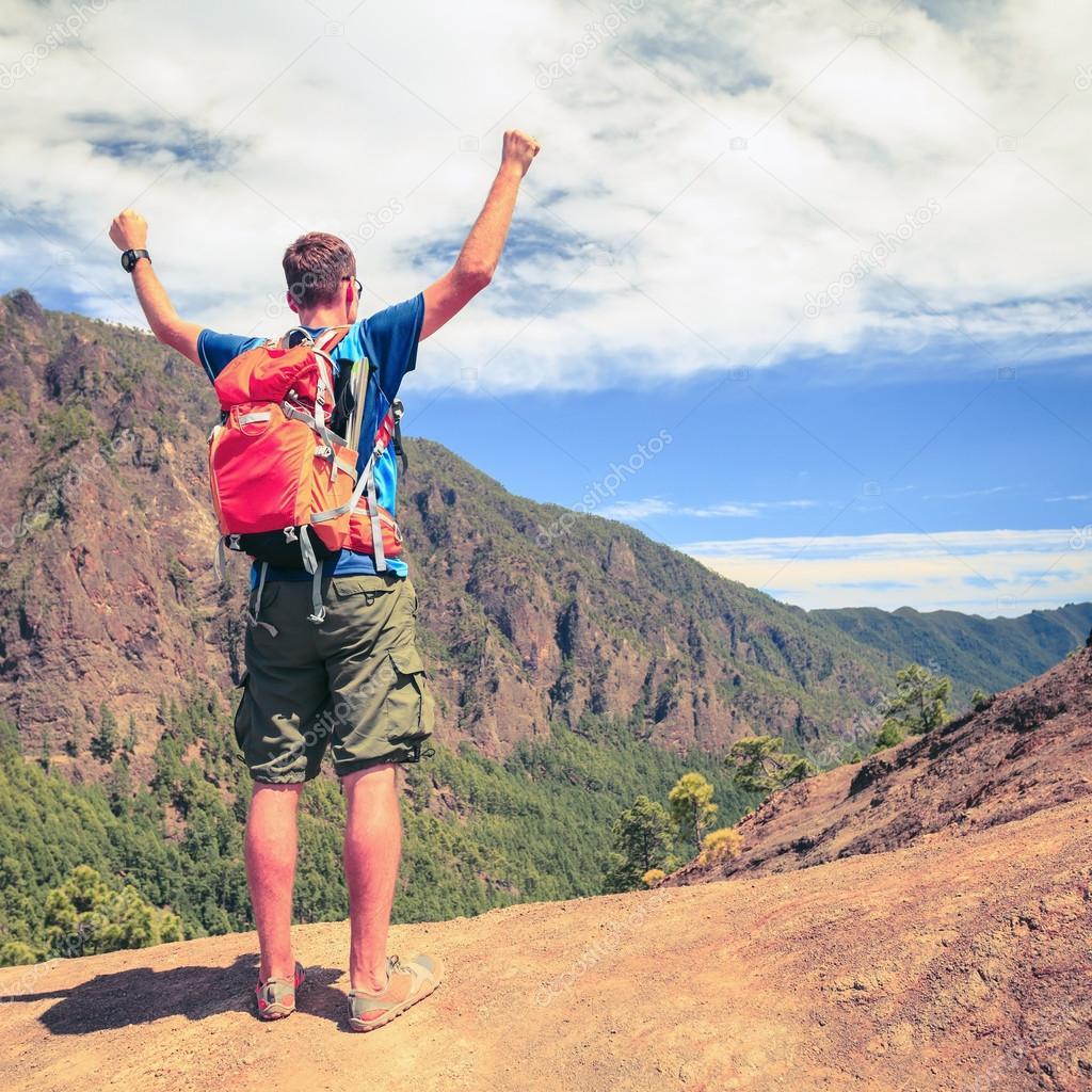 Hiker or runner success motivation