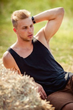 casual man outdoors