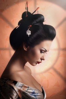 Apanese Geisha woman