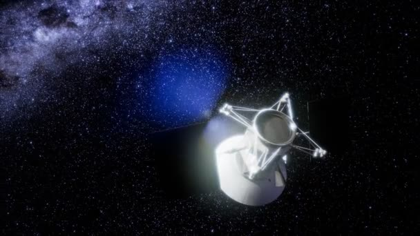 Magellan spacecraft approaching to Venus