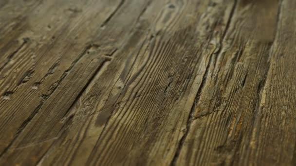 old dark vintage wooden surface
