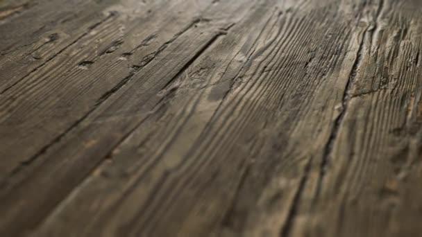 alte dunkle Holzoberfläche