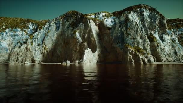 8K-szigetek Norvégia sziklák és sziklák