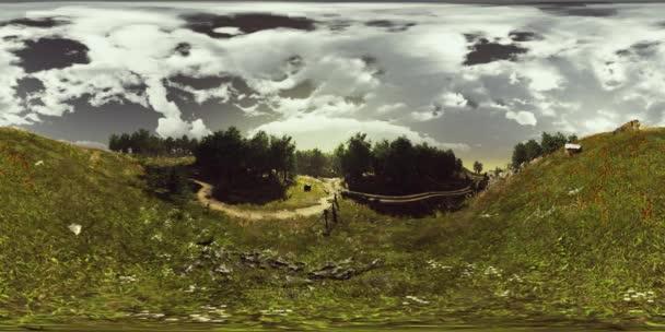 VR360 a mező és a fofest nézete