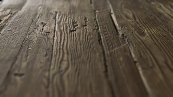 starý tmavý vinobraní dřevěný povrch