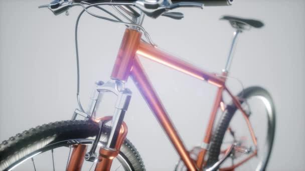 mountain sport bike in studio