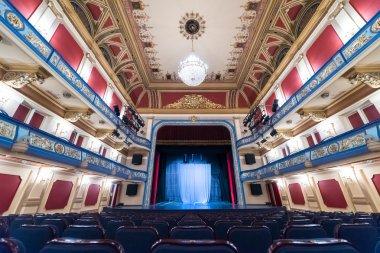 empty theatre stage