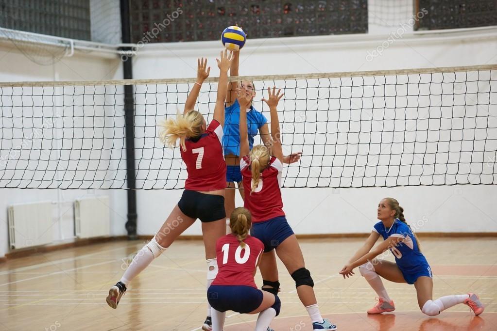 Mujer Volleyball World Grand Prix — Foto editorial de