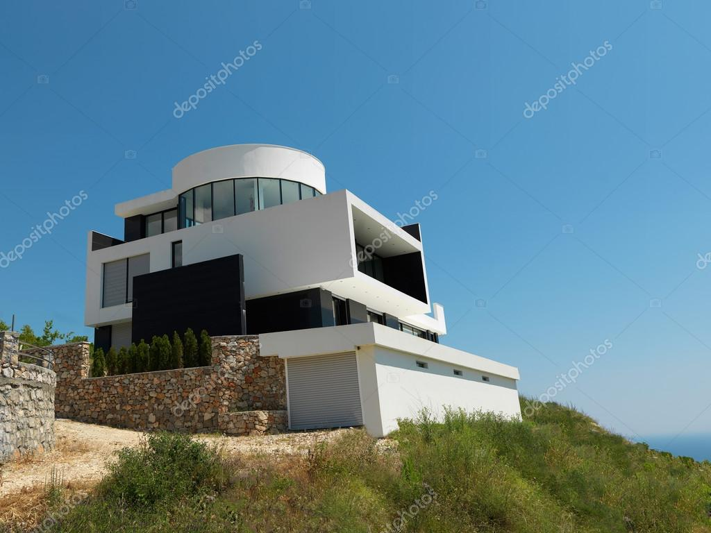External view of a contemporary house