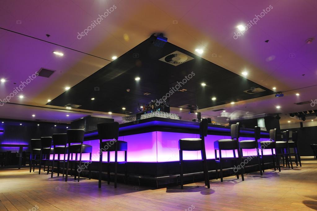 Moderne Bar oder Club innen — Stockfoto © .shock #73816935