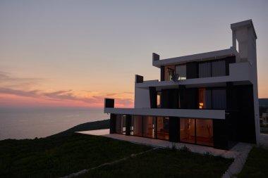 Modern house view
