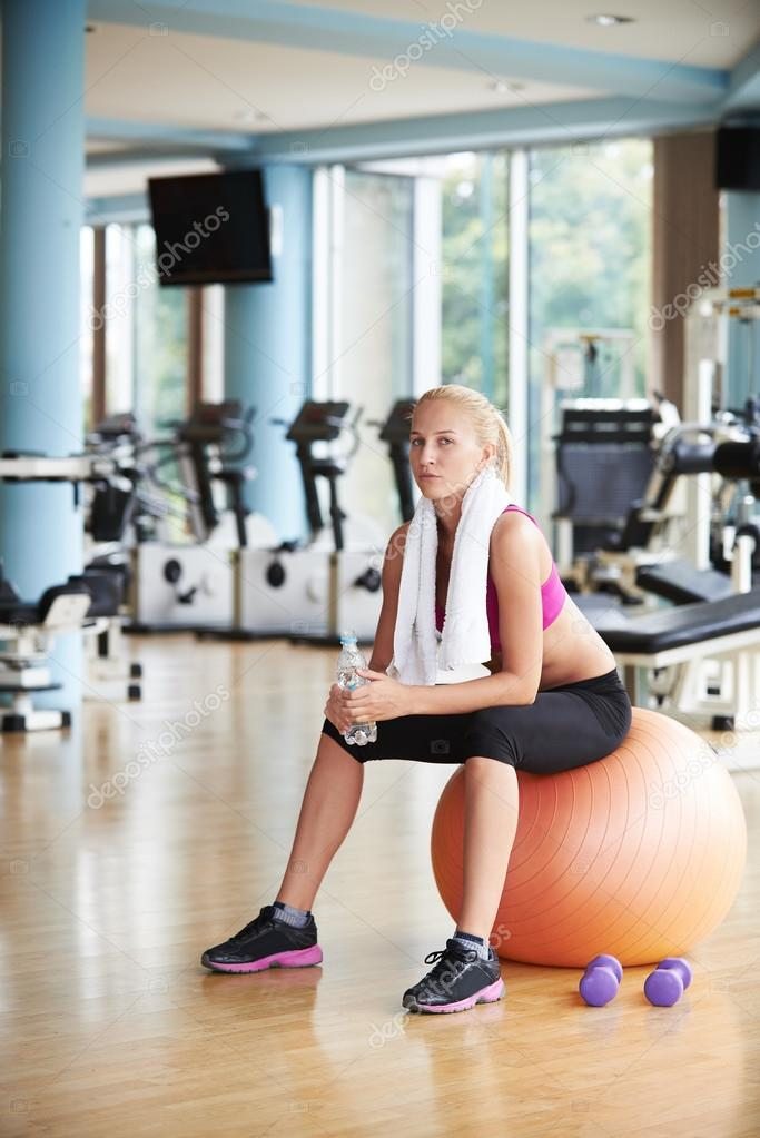 Woman in fitness gym drink water stock photo ock 87424362 woman in fitness gym drink water stock photo 87424362 sciox Choice Image