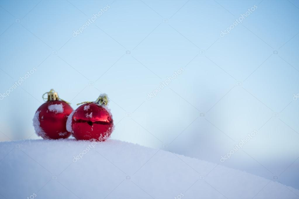 Foto Di Natale Neve Inverno 94.Palle Di Natale Neve Foto Stock C Shock 91519940