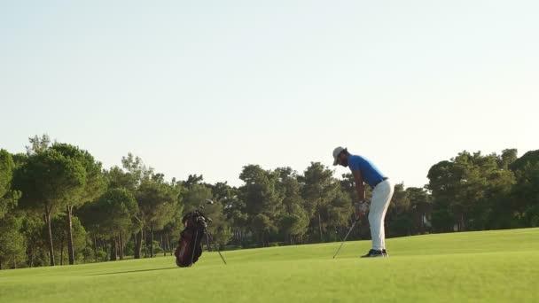 golfové hráče jsou procházky