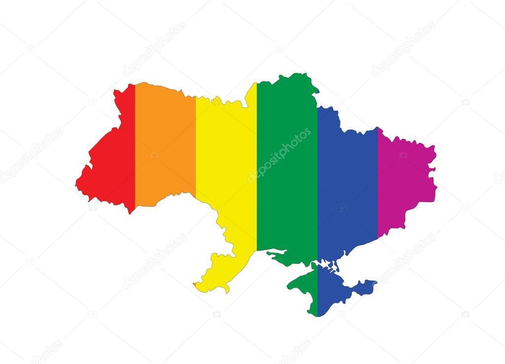 Mapa dla gejów