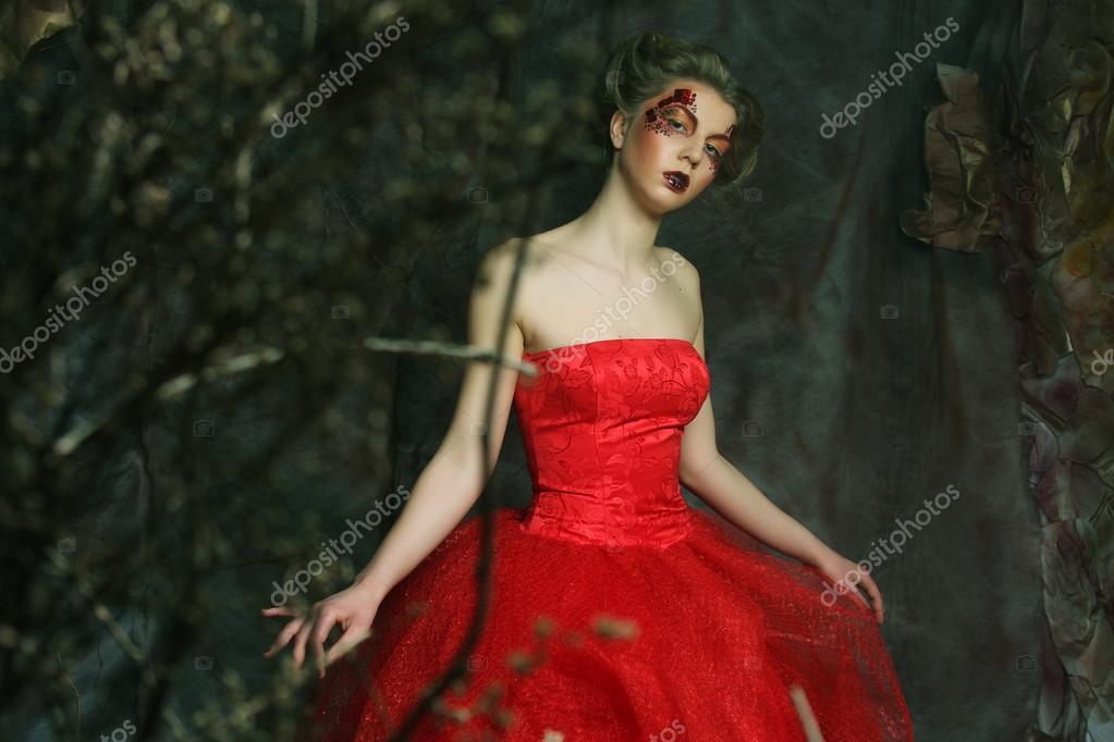 Imágenes Vestidos Epoca Medieval Retrato De Una Hermosa
