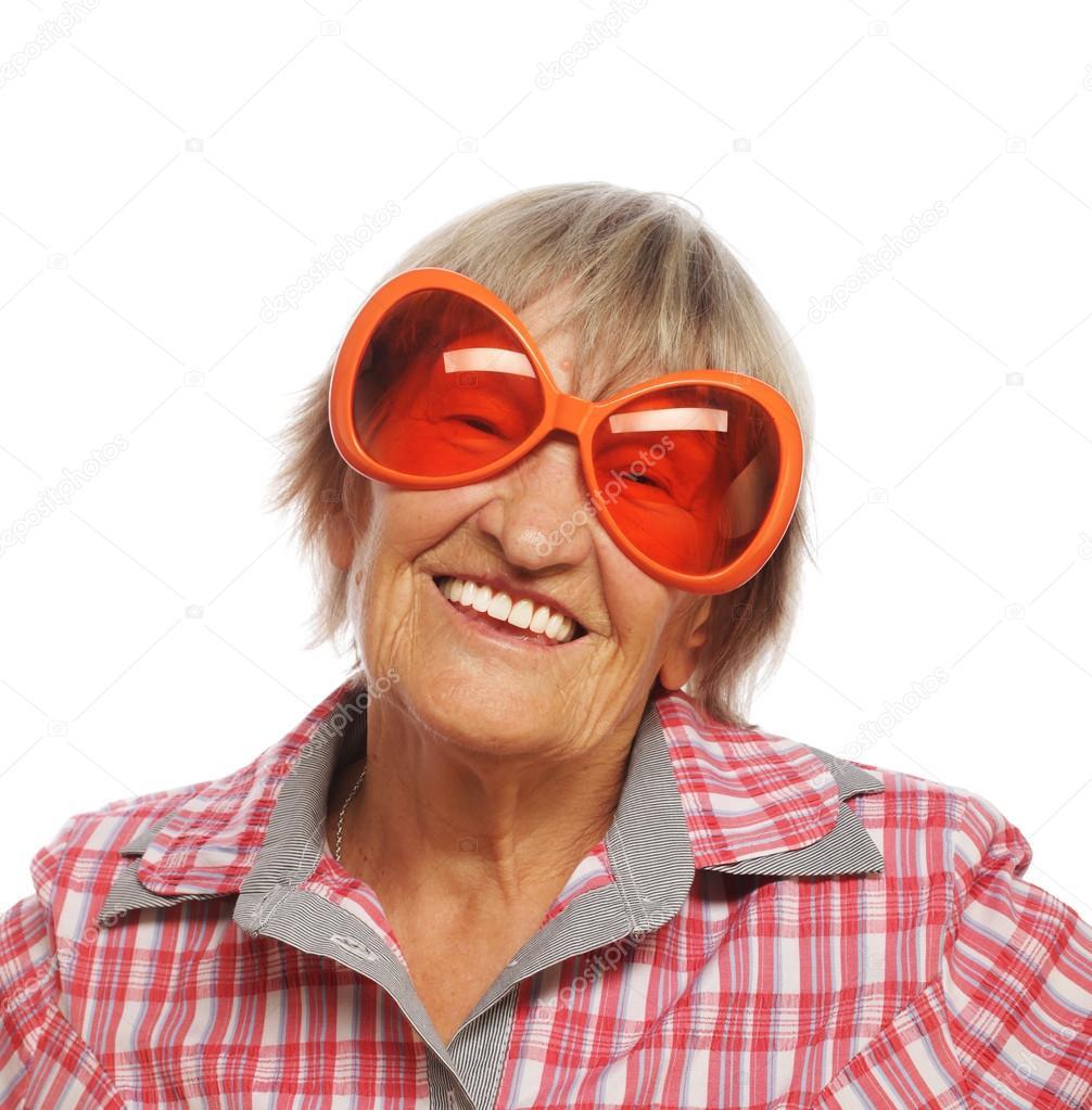 b66e1a5d89 Ανώτερος ευτυχισμένη γυναίκα