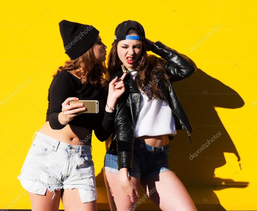 freie weibliche Freundschaft