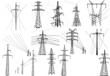 electric towers collection