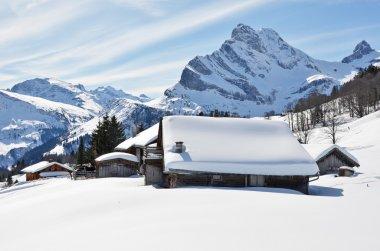 Winter in Braunwald, Switzerland