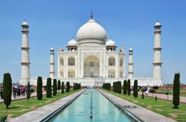 Ancient  Taj Mahal in India