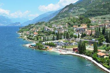 Malcesine -  beautiful town at lake Garda