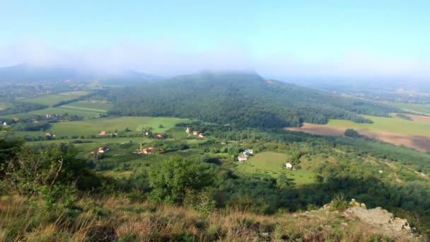 Magyar nyári táj a vulkánok