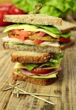 Sandwiches for snack