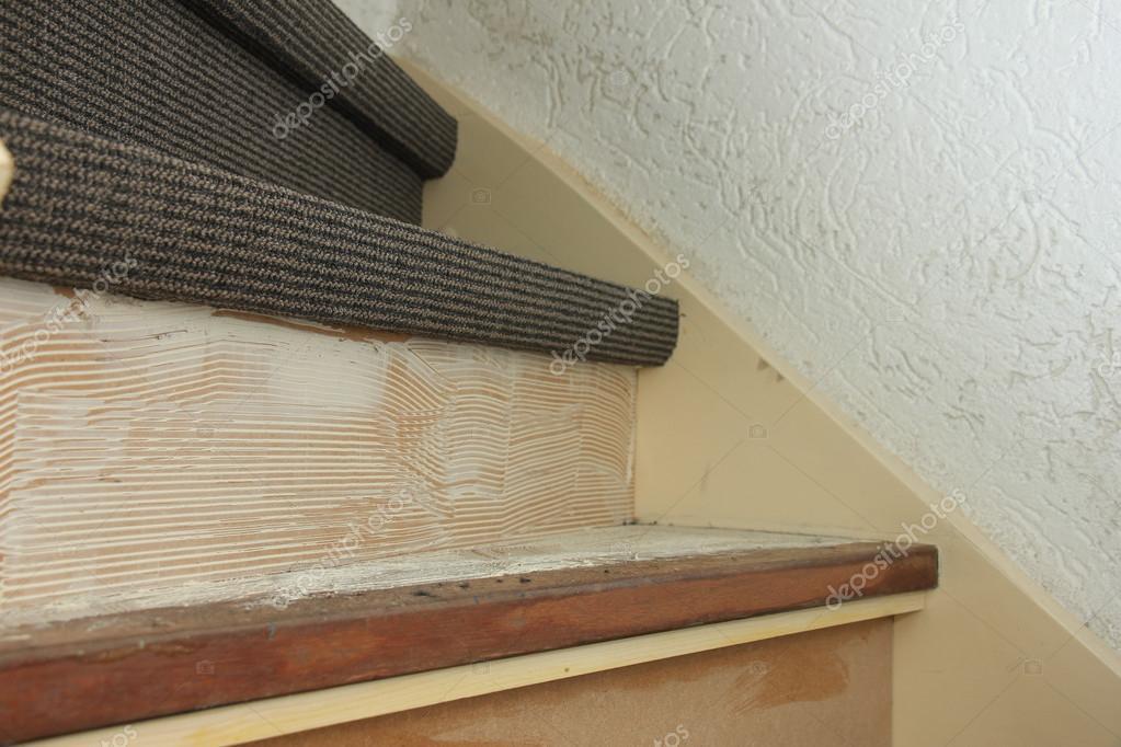 Vloerbedekking van een trap u stockfoto portosabbia