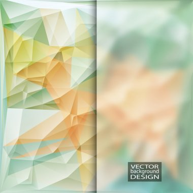 Multicolor Design Templates with Frosted Glass Insert.