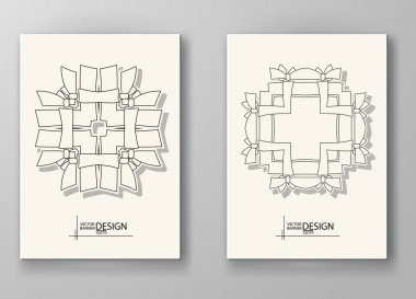 Set of Design Templates.