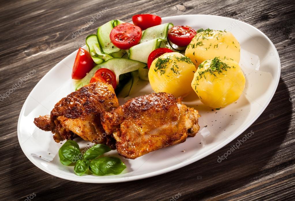 Calorias muslo de pollo ala brasa