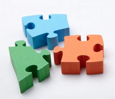 Pieces of color puzzle