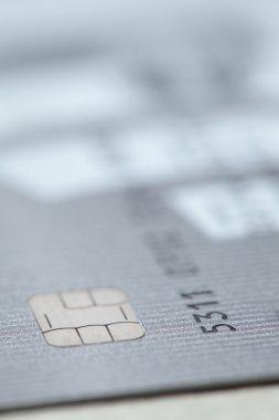 credit card close-up