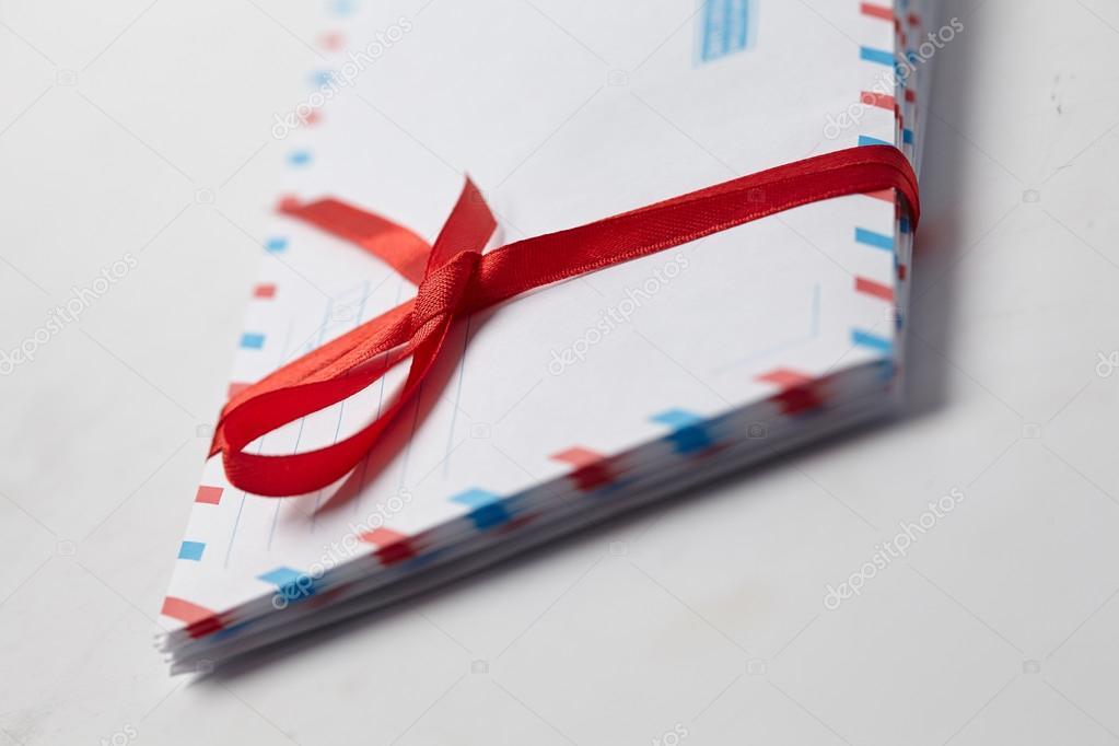 Envelopes For Valentine S Day Stock Photo C Strelok 113873802