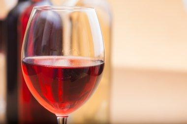 set of different wine