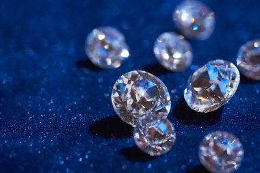 Diamonds closeup