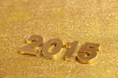 Photo 2015 number on golden