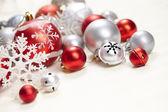 Fotografie Vánoční koule a dekorace