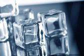 Photo Ice cubes closeup