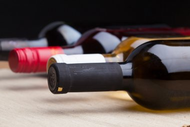 Different kinds of wines
