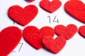 Fotografie Kalendář den Valentines