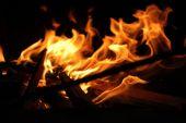 helle Flamme Hintergrund