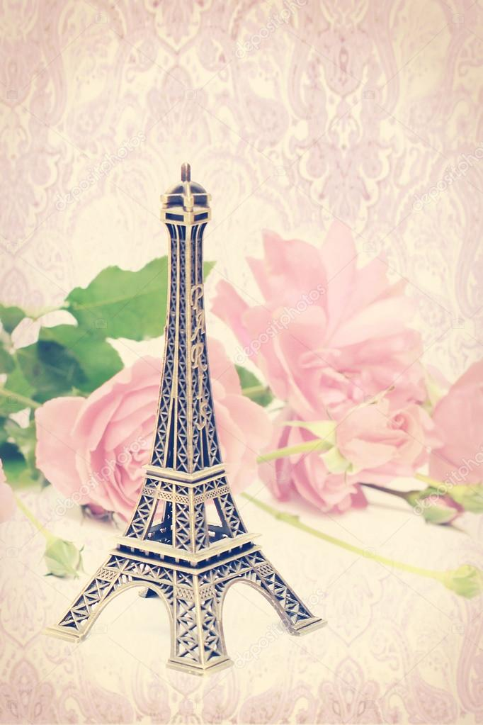 Fashion Vintage Paris Card