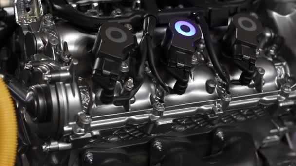 Autó hibrid motor Részletek