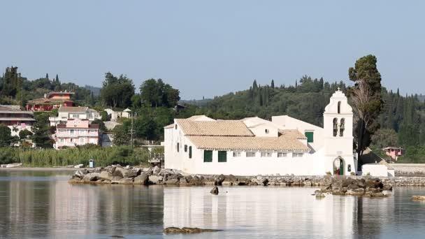 Vlacherna Kloster Pontikonisi Korfu Griechenland