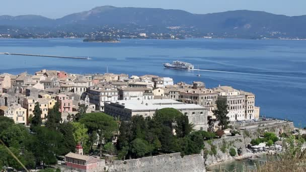 Kerkyra alte Korfu Stadt Griechenland